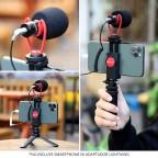 Kit Tripode y Microfono para Smartphone