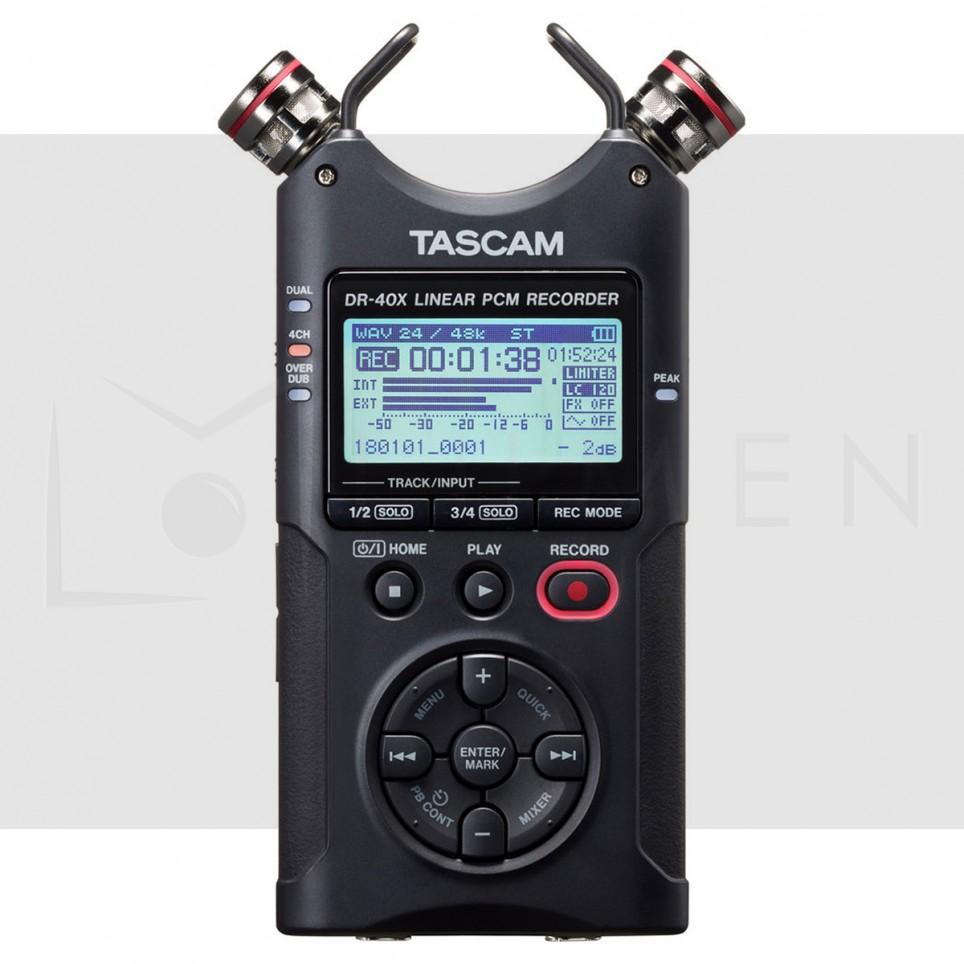 Tascam DR-40X Grabadora portátil de 4 canales