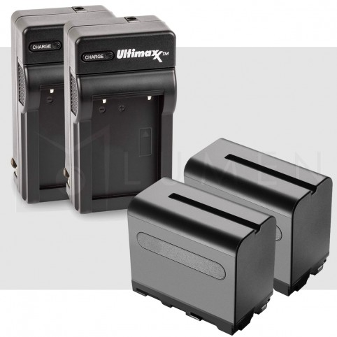 Cargador para Baterias F550 / F750 / F960 para Sony