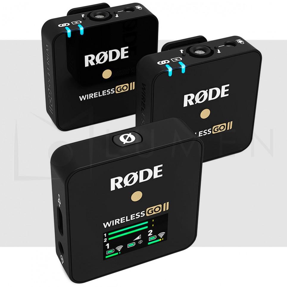 Rode Wireless Go II Microfono de solapa 2.4GHz