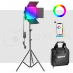 Panel LED Neewer 660 RGB PRO Multicolor con Tripode