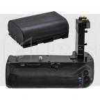 Para Canon 7d Mark II Grip + Bateria LP-E6