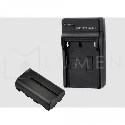 Cargador para Baterias F550/F750/F960 para Sony