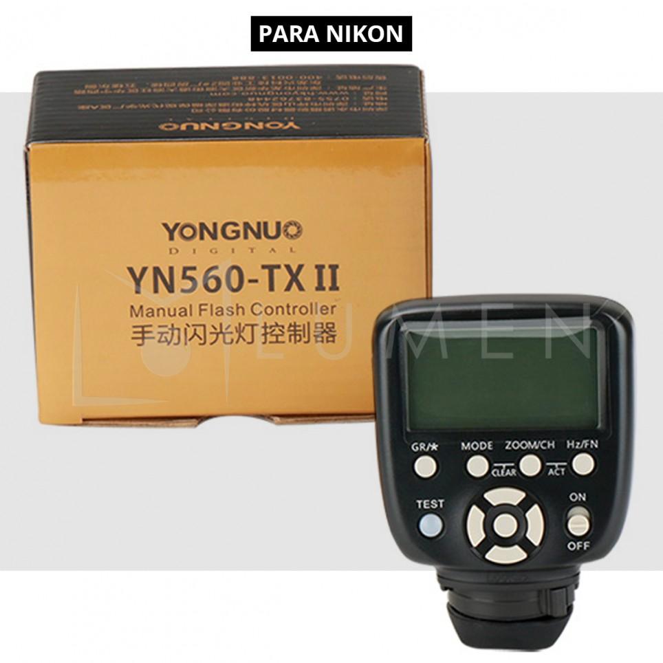 Control Transmisor Yongnuo Yn560-tx Para Nikon