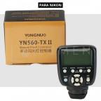 YN560-TX II Control Transmisor Disparador para Flash Yongnuo Para Nikon