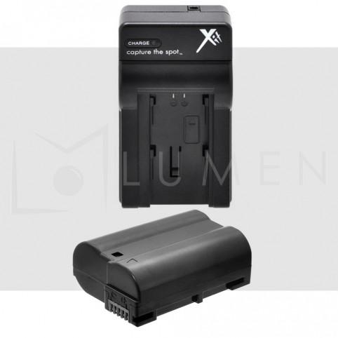Cargador + Batería En-el15 Para Nikon D7100 D7200 D7000 D600