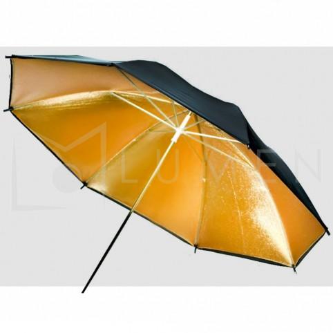 Sombrilla Dorada 83cm para Fotografia y Video