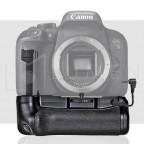 Grip para Canon T7i / 77D / Kiss X9i compatible con Batería Lp-E17