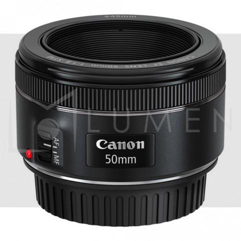 Lente Canon EF 50mm f/1.8 STM Negro.