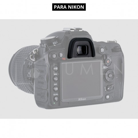 Eye-Cup visor Ocular para Nikon D7200 D7100 D7000 D610 D750