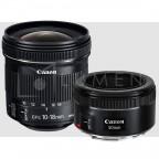 Kit Retrato Canon 50mm f/1.8 y 10-18 f/4.5-5.6