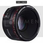 Lente Yongnuo 50mm f/1.8 II (Versión 2) para Cámara Canon Negro