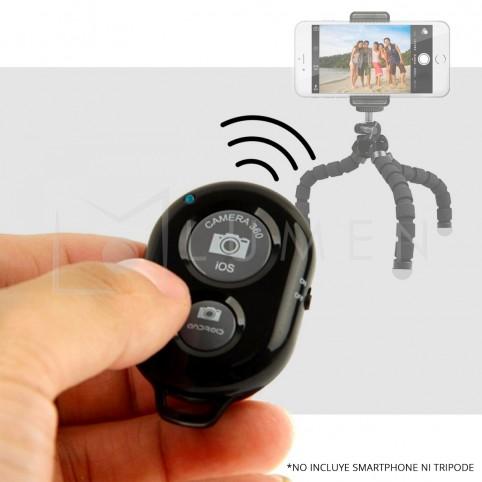 Control Remoto Obturador Bluetooth Smartphones iOS/Android