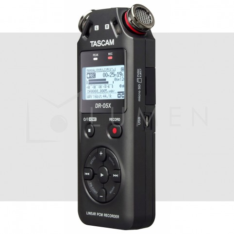Tascam DR-05X Grabadora portable 2 Entradas 2 Pistas Stereo