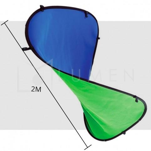 Fondo Colapsible Reversible Chroma + Tripode Soporte 2x1.5M