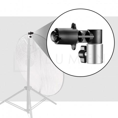Clip Soporte Reflector Portafondos para Trípode de Luz