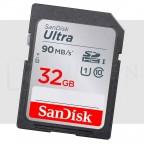 32GB Tarjeta de Memoria Sandisk Clase 10 para Fotografia Video