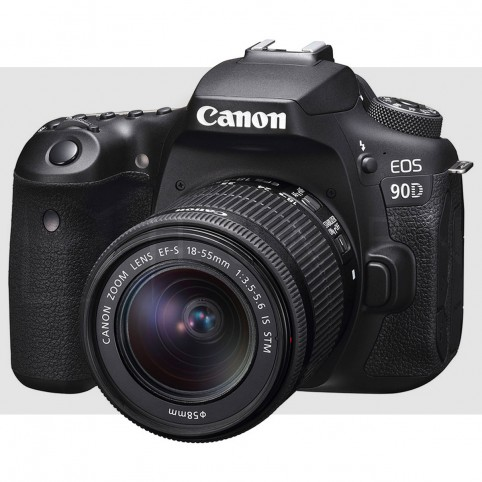 Canon 90d con 18-55mm f/4-5.6 IS STM