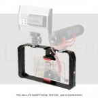 Estabilizador para Fotografía Video para celular Smartphone iPhone Samsung  Huawei Negro