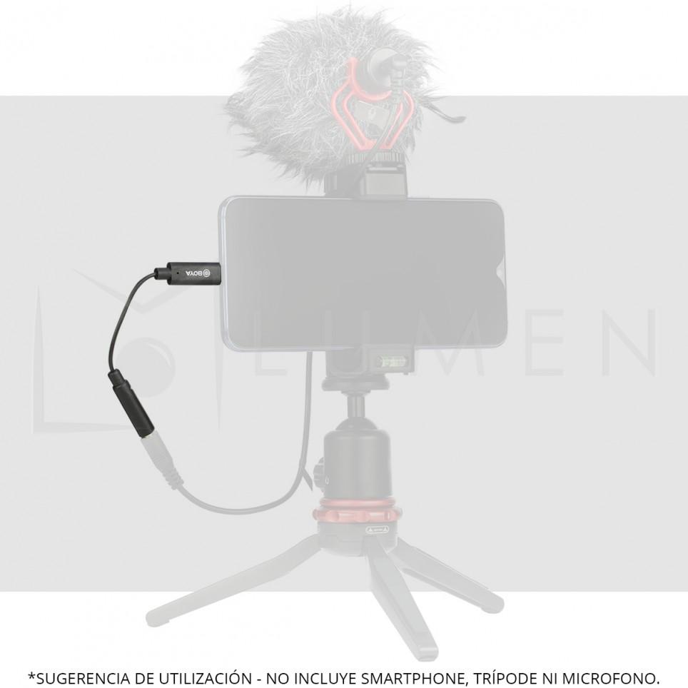 Adaptador de microfono 3.5mm a USB-C