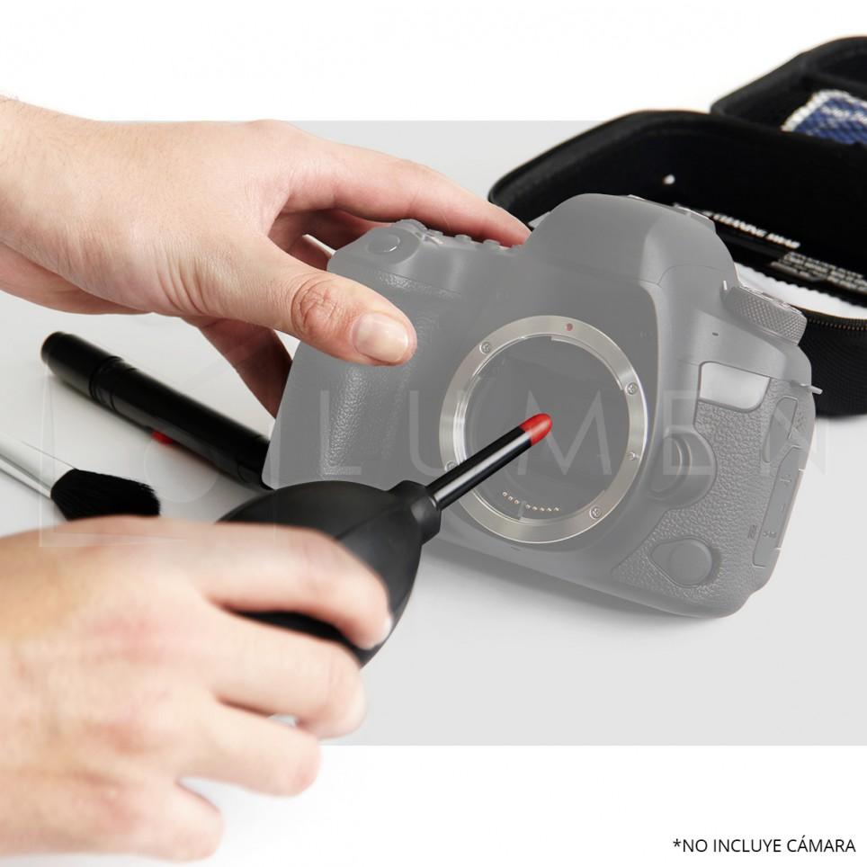 Kit Cuidado y Limpieza de Cámaras y Lentes Completo