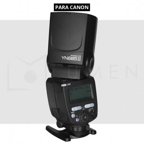 Flash Yongnuo YN685 TTL para cámara Canon 1/8000 segundos